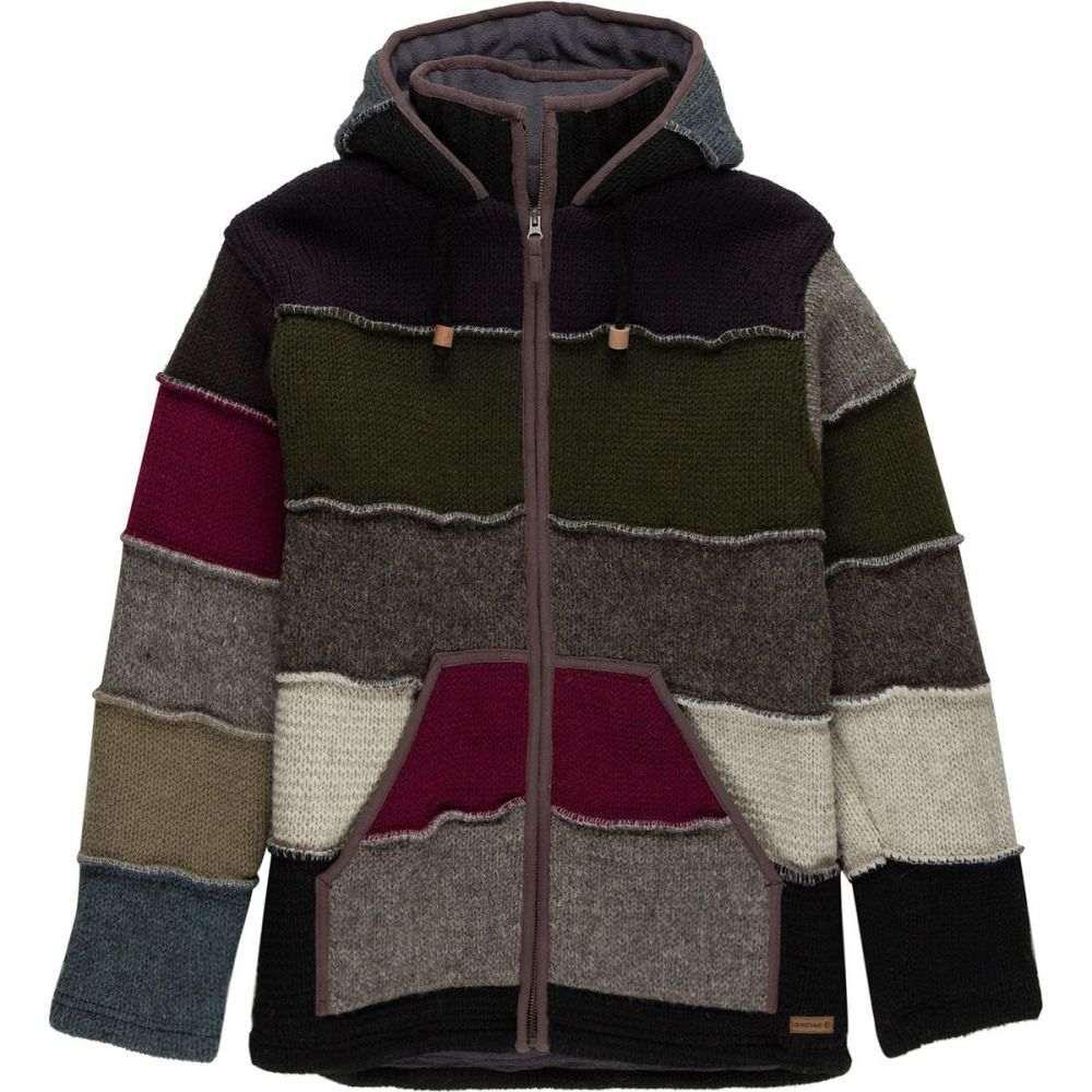 ランドロマット Laundromat メンズ トップス ニット・セーター【Patchwork Sweaters】Black