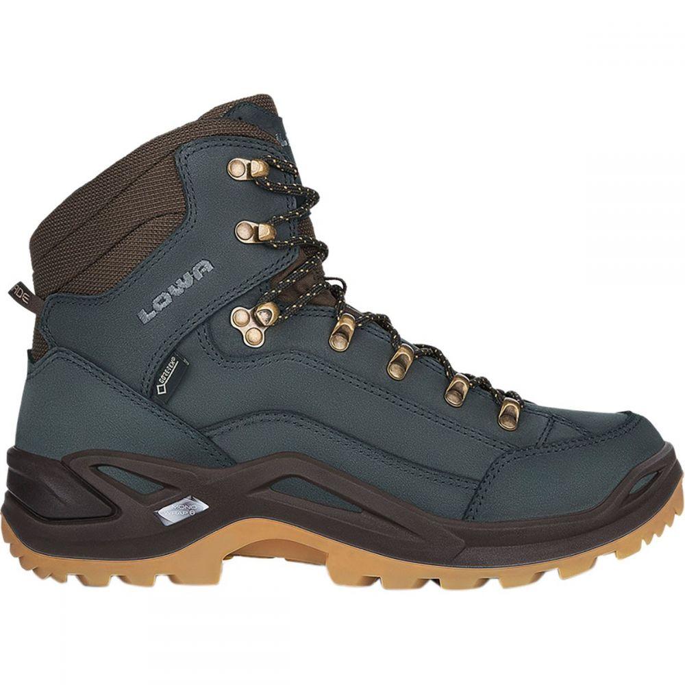 ロワ Lowa メンズ ハイキング・登山 シューズ・靴【Renegade GTX Mid Hiking Boots】Navy/Honey