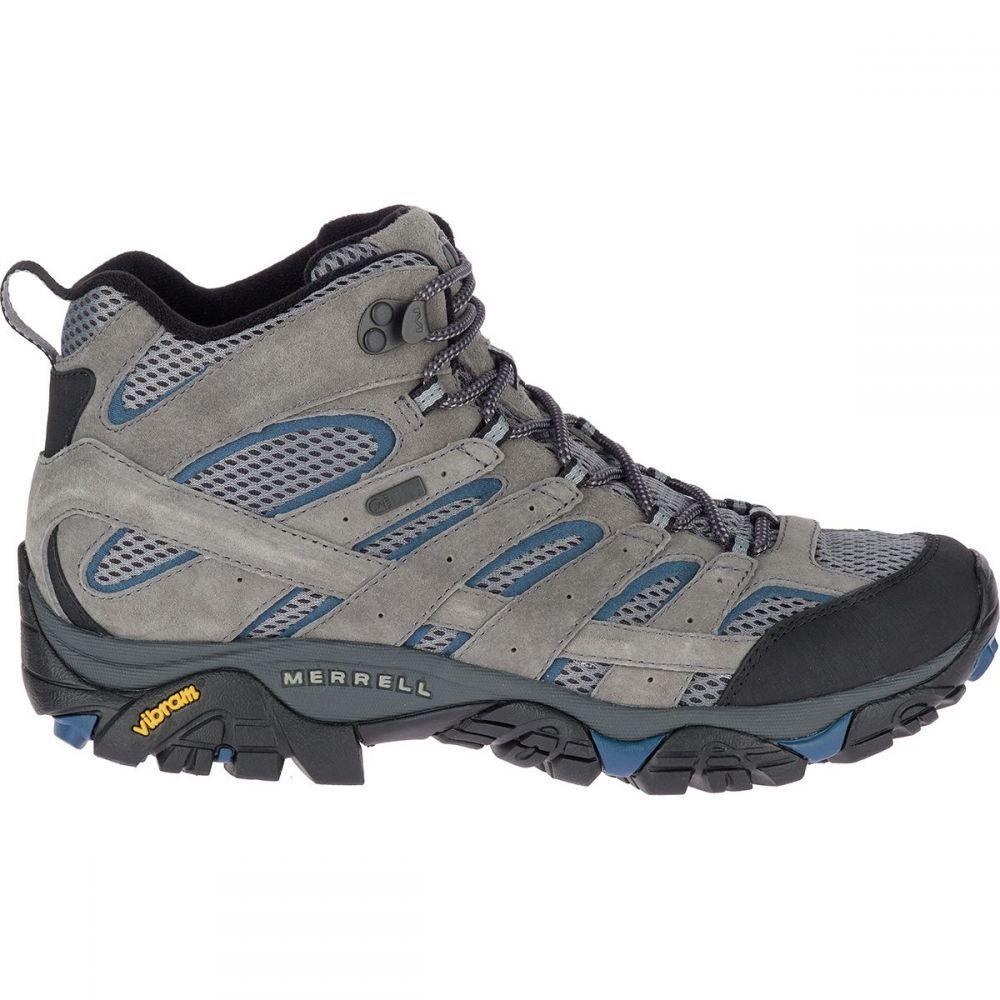 メレル Merrell メンズ ハイキング・登山 シューズ・靴【Moab 2 Mid Waterproof Hiking Boots】Castle/Wing