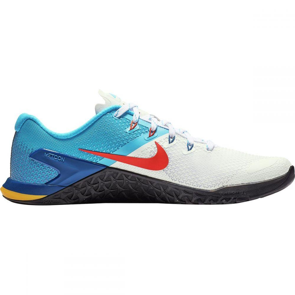 ナイキ Nike メンズ ランニング・ウォーキング シューズ・靴【Metcon 4 Training Shoes】White/Team Orange-blue Hero-gym Blue