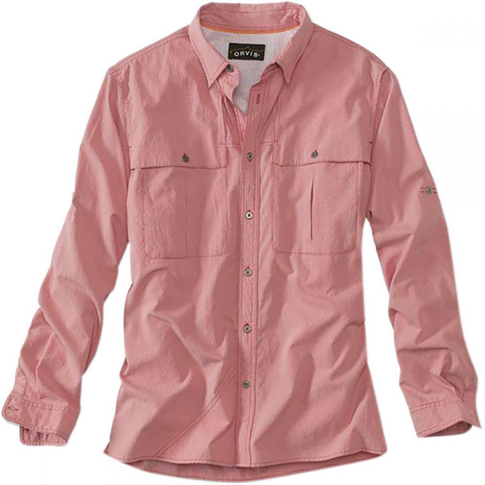 オービス Orvis メンズ 釣り・フィッシング トップス【Open - Air Caster Long - Sleeve Shirts】Red