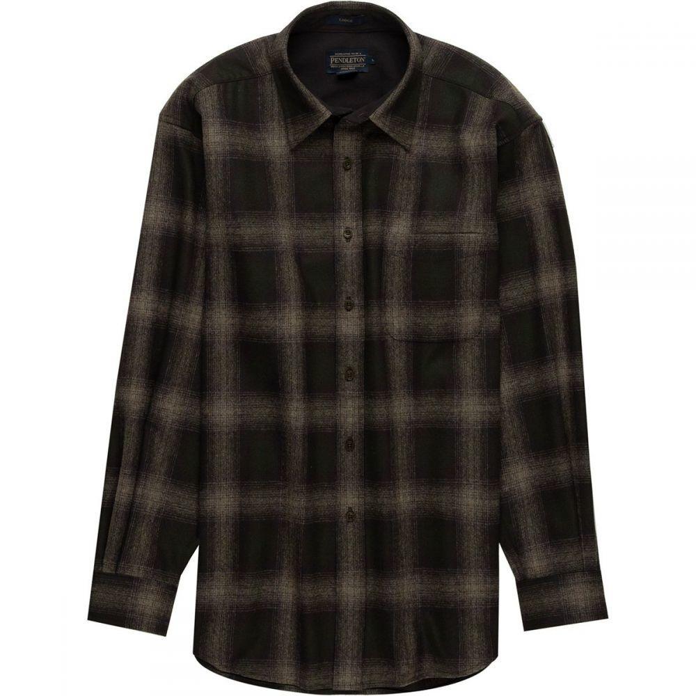 ペンドルトン Pendleton メンズ トップス シャツ【Lodge Shirts】Brown/Green/Taupe Mix Ombre