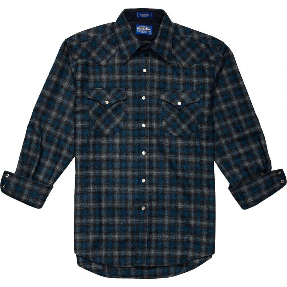 ペンドルトン Pendleton メンズ トップス シャツ【Canyon Fitted Shirts】Blue/Grey Ombre