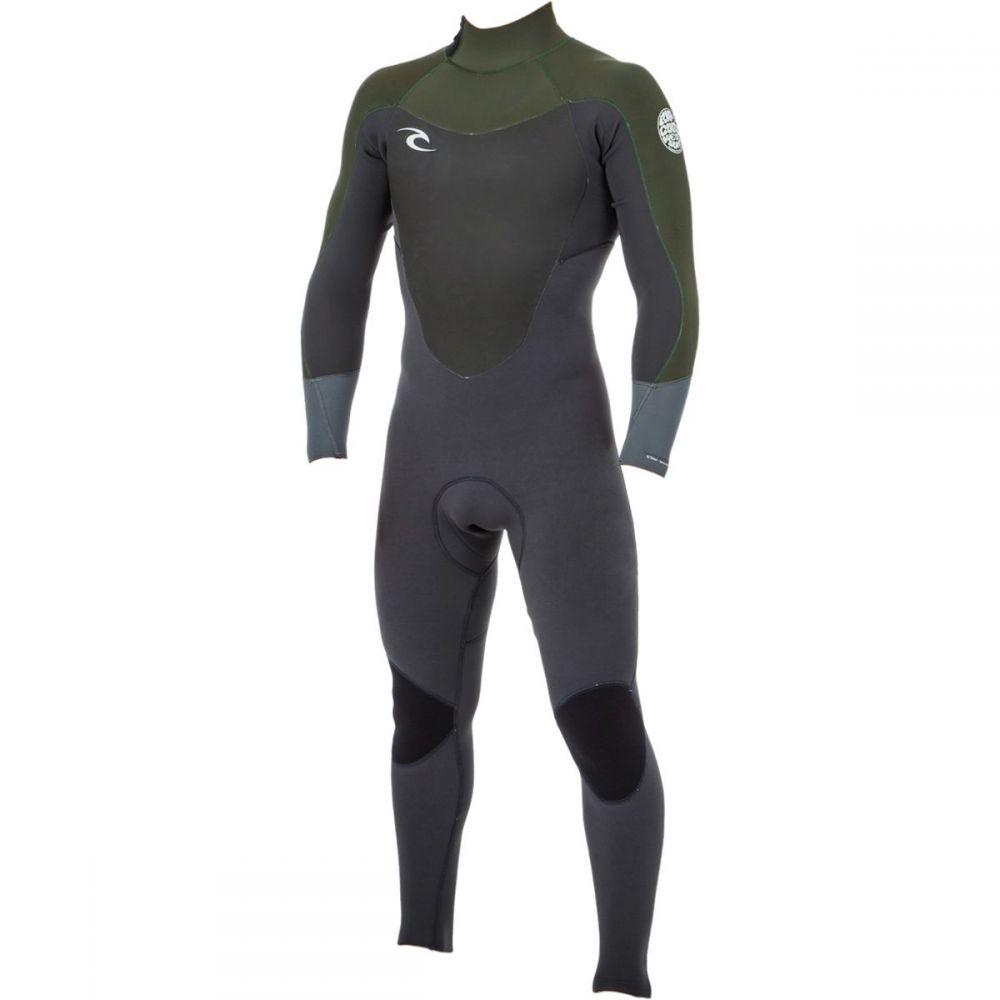 リップカール Rip Curl メンズ 水着・ビーチウェア ウェットスーツ【Dawn Patrol 3/2 Back - Zip Full Wetsuits】Khaki