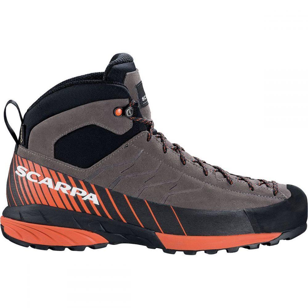 スカルパ Scarpa メンズ ハイキング・登山 シューズ・靴【Mescalito Mid GTX Shoes】Charcoal/Tonic