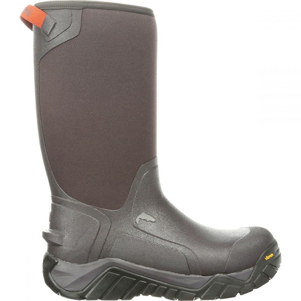 シムズ Simms メンズ 釣り・フィッシング シューズ・靴【G3 Guide Pull - On 14in Boots】Carbon