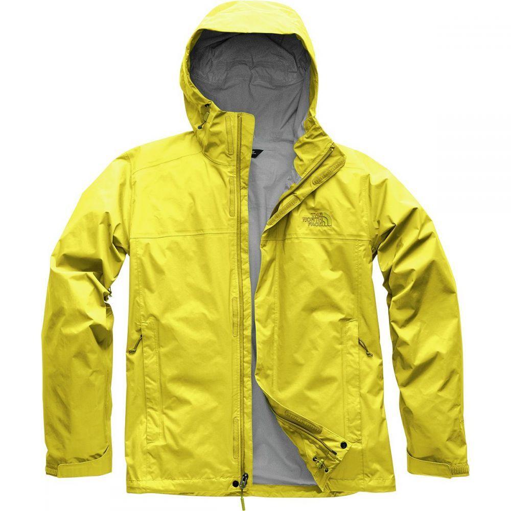 ザ ノースフェイス The North Face メンズ アウター レインコート【Venture 2 Hooded Jackets】Acid Yellow/Leopard Yellow