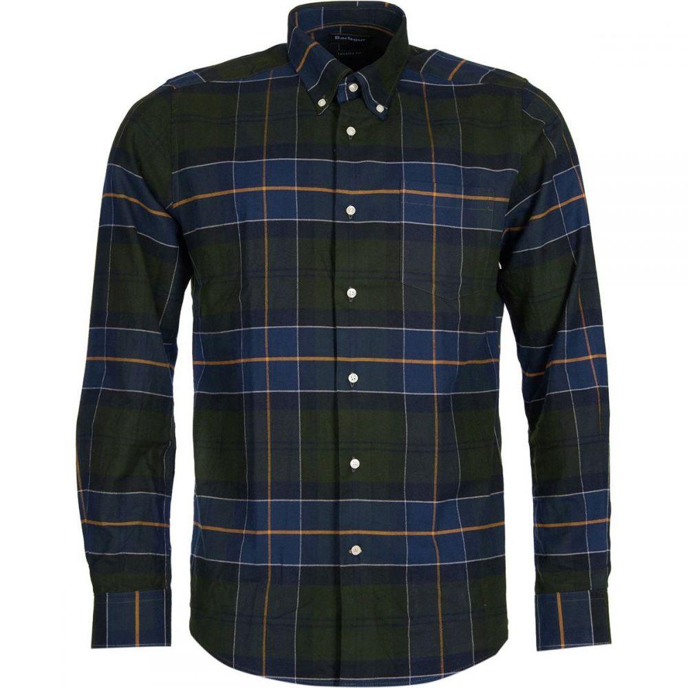 バーブァー Barbour メンズ トップス シャツ【Lustleigh Button - Down Shirts】Forest