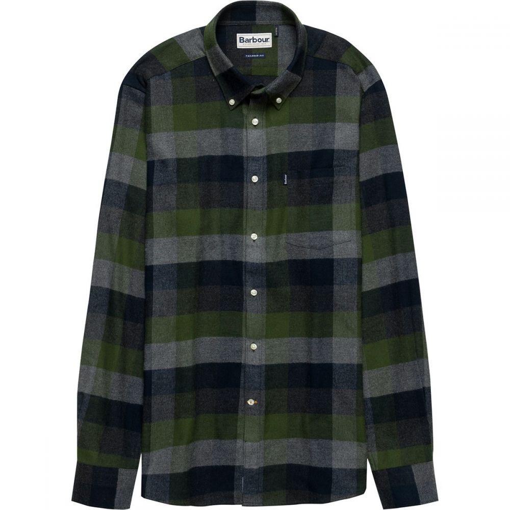 バーブァー Barbour メンズ トップス シャツ【Stapleton Angus Button - Down Shirts】Racing Green