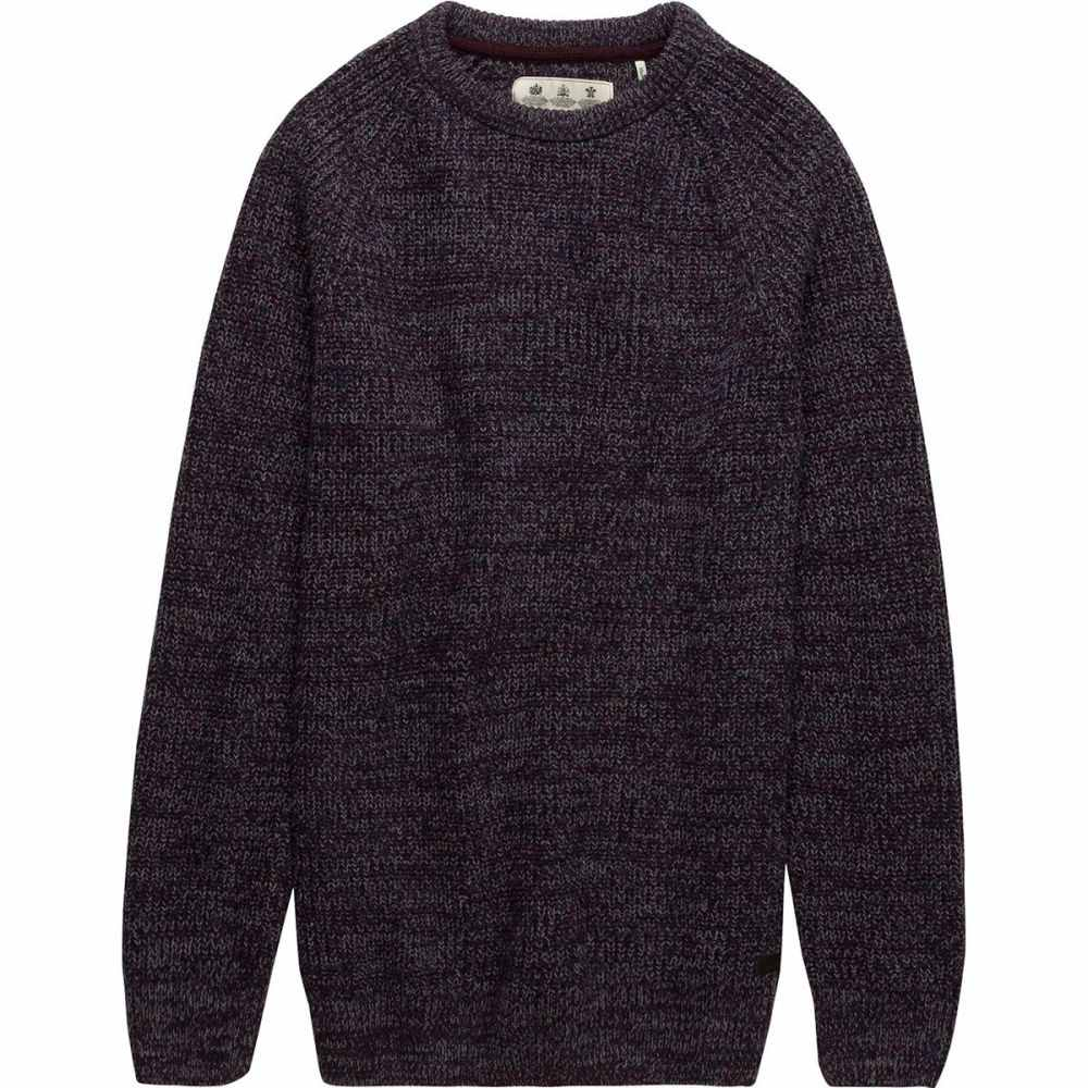 バーブァー Barbour メンズ トップス ニット・セーター【Horseford Crew Sweaters】Merlot
