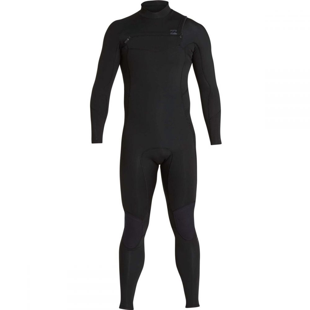 ビラボン Billabong メンズ 水着・ビーチウェア ウェットスーツ【3/2mm Furnace Absolute Chest Zip Full Wetsuits】Black