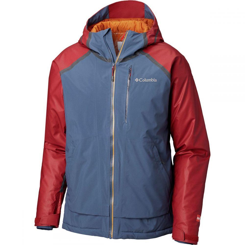 コロンビア Columbia メンズ スキー・スノーボード アウター【Outdry Glacial Hybrid Jackets】Red Element Heather/Dark Mtn