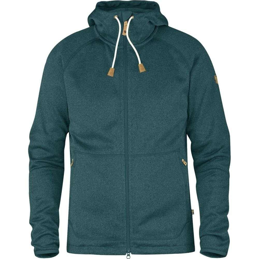 フェールラーベン Fjallraven メンズ トップス パーカー【Ovik Fleece Hooded Jackets】Glacier Green