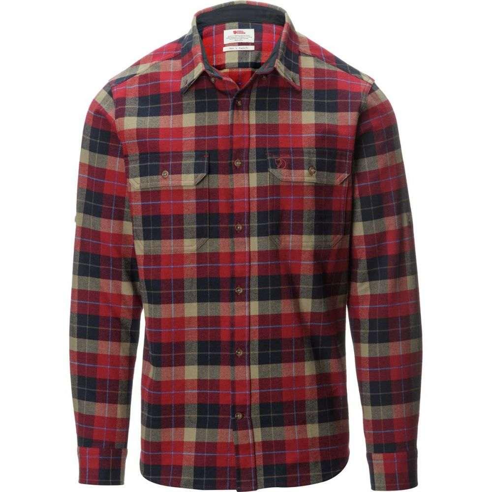 フェールラーベン Fjallraven メンズ トップス シャツ【Singi Heavy Flannel Shirts】Deep Red