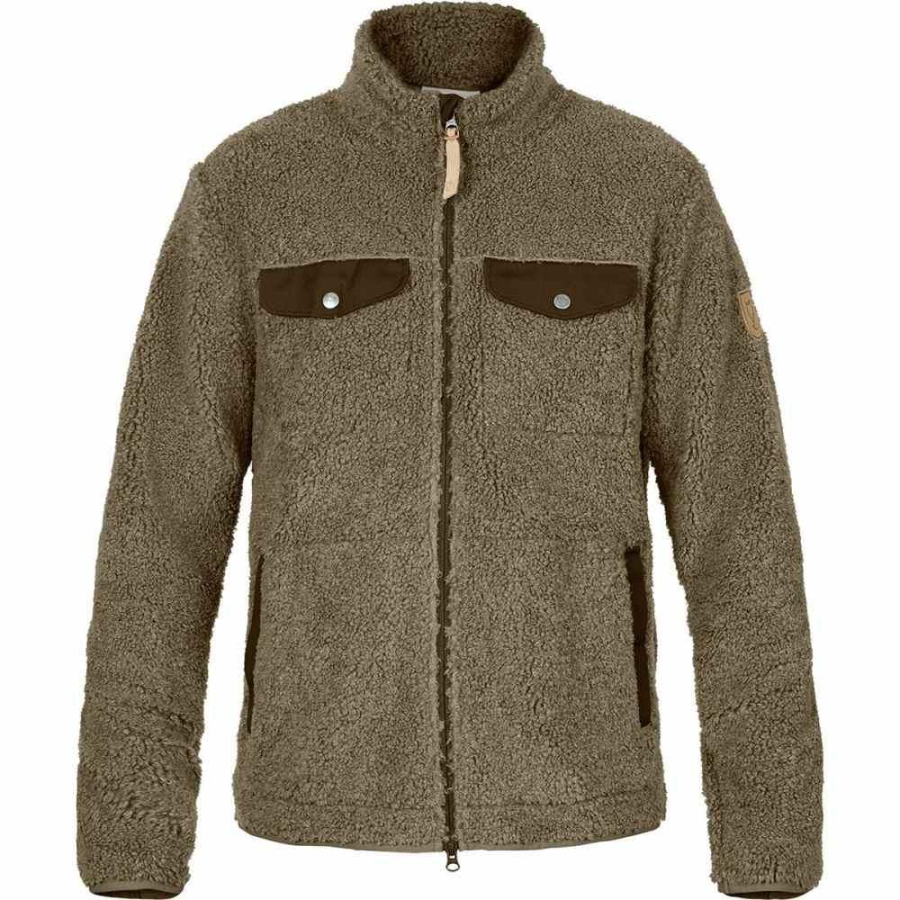 フェールラーベン Fjallraven メンズ トップス フリース【Greenland Pile Fleece Jackets】Taupe