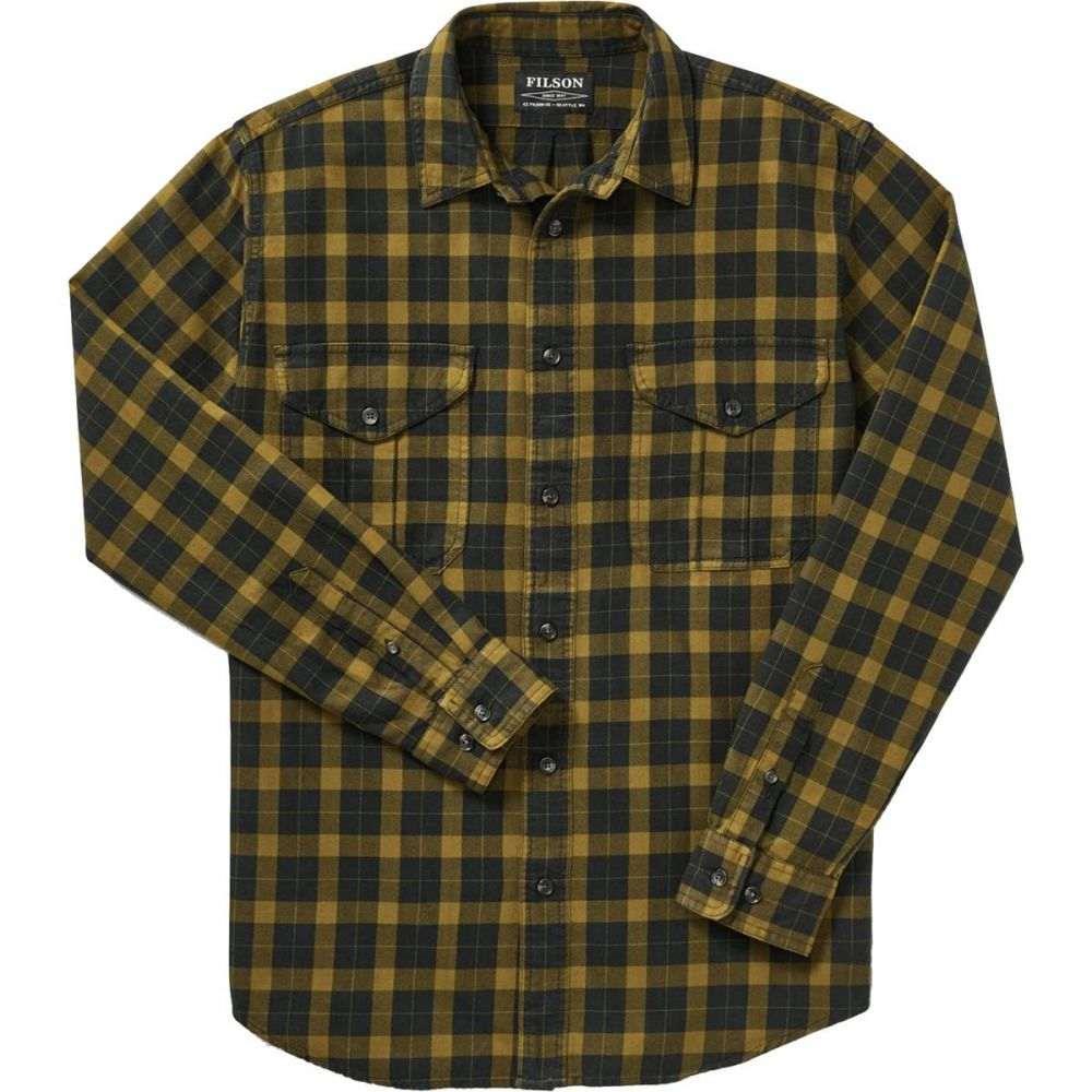 フィルソン Filson メンズ トップス シャツ【Lightweight Alaskan Guide Shirts】Black/Mustard