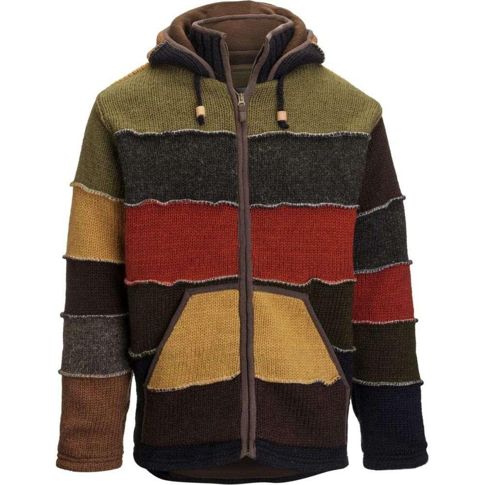 ランドロマット Laundromat メンズ トップス ニット・セーター【Patchwork Sweaters】Red