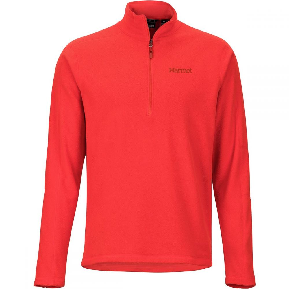 マーモット Marmot メンズ トップス フリース【Rocklin 1/2 - Zip Fleece Jackets】Mars Orange