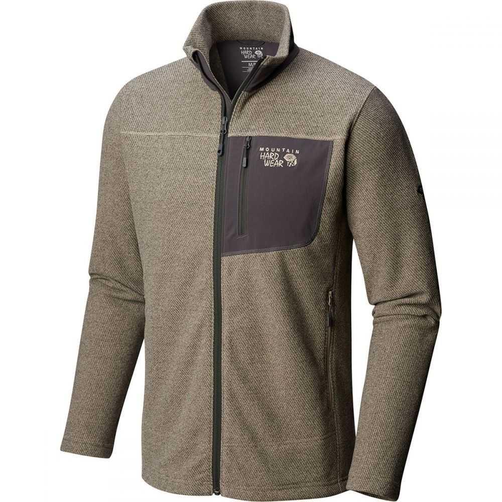 マウンテンハードウェア Mountain Hardwear メンズ トップス フリース【Toasty Twill Fleece Jackets】Badlands