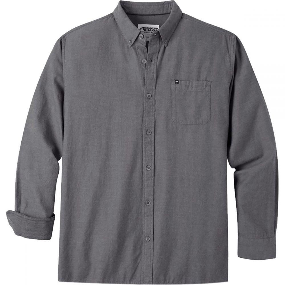 マウンテンカーキス Mountain Khakis メンズ トップス シャツ【Local Long - Sleeve Shirts】Black