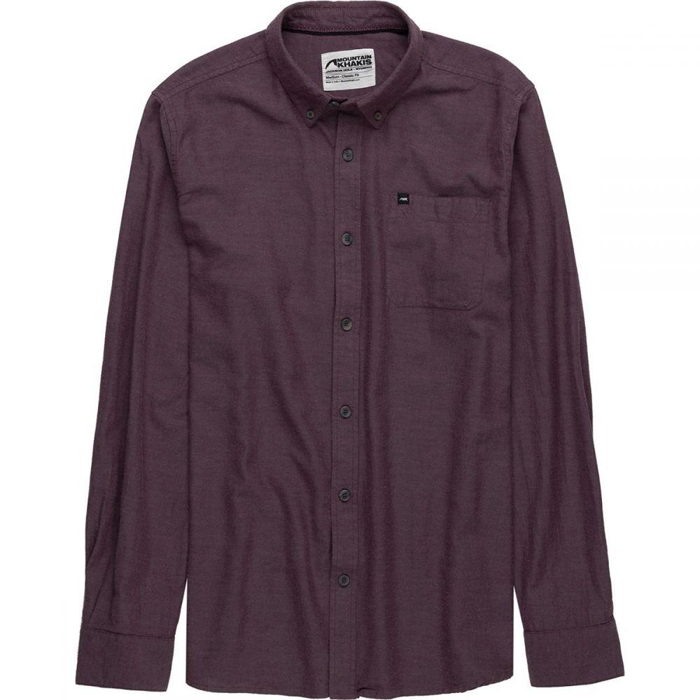 マウンテンカーキス Mountain Khakis メンズ トップス シャツ【Local Long - Sleeve Shirts】Raisin