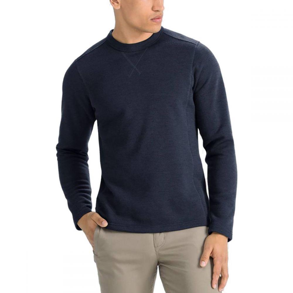 ナウ NAU メンズ トップス スウェット・トレーナー【Randygoat Crew Sweatshirts】Navy Heather