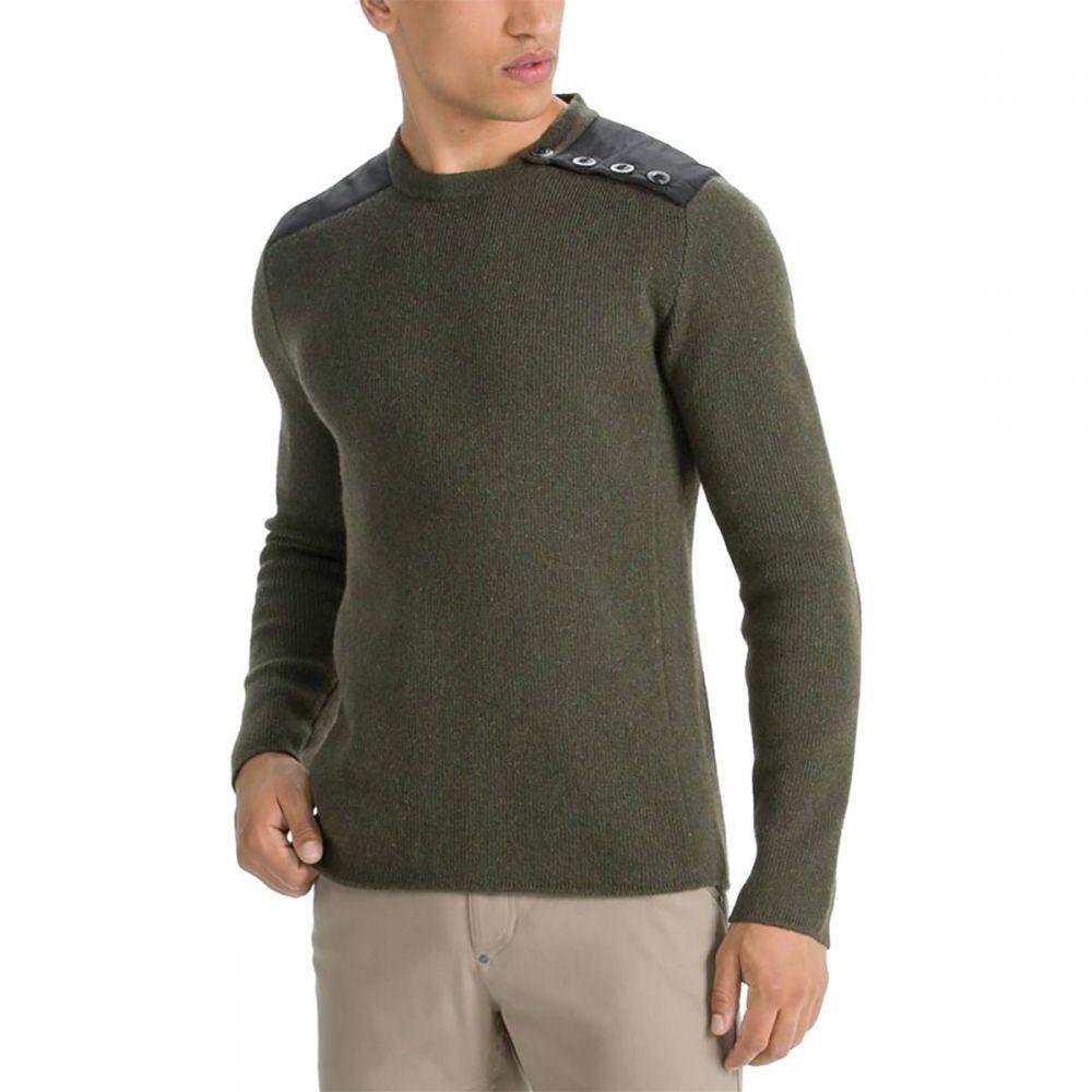 ナウ NAU メンズ トップス ニット・セーター【Stealth Crew Neck Sweaters】Clove Heather