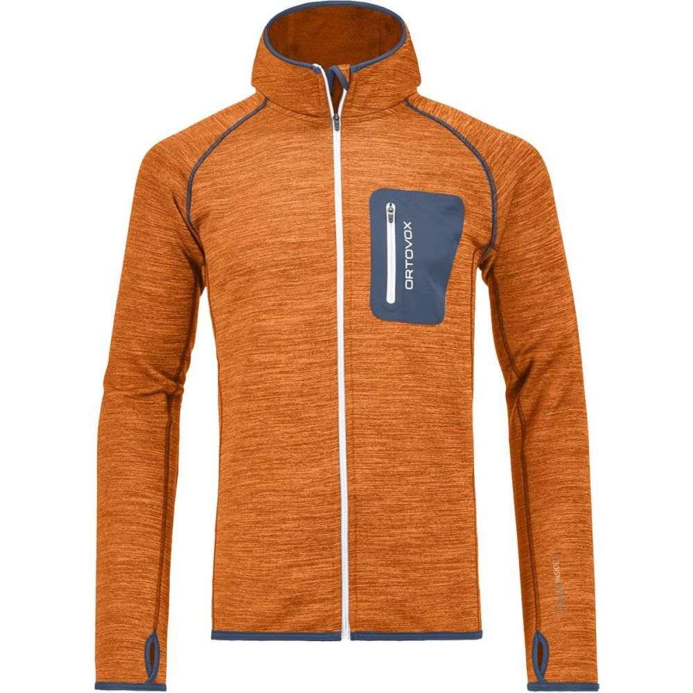 オルトボックス Ortovox メンズ トップス フリース【Melange Hooded Fleece Jackets】Crazy Orange Blend