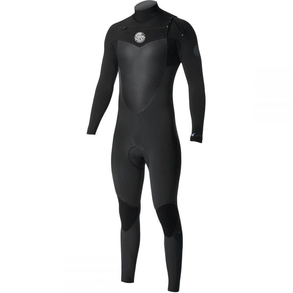 【在庫処分大特価!!】 リップカール Wetsuits】Black Rip Curl メンズ 水着 4/3・ビーチウェア ウェットスーツ Zip【Flashbomb 4/3 GB Chest - Zip Full Wetsuits】Black, キタヤマムラ:ba128469 --- alumni.poornima.org