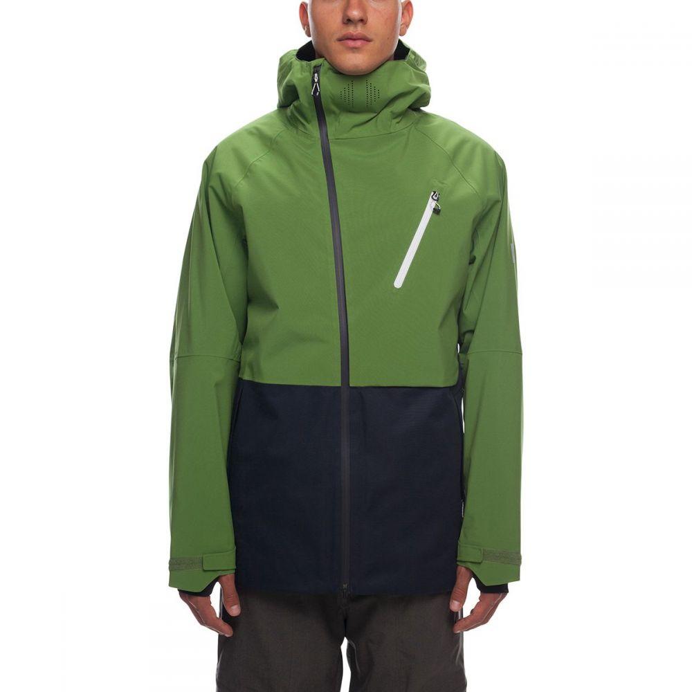 シックス エイト シックス 686 メンズ スキー・スノーボード アウター【GLCR Hydra Thermagraph Insulated Jackets】Camp Green Colorblock