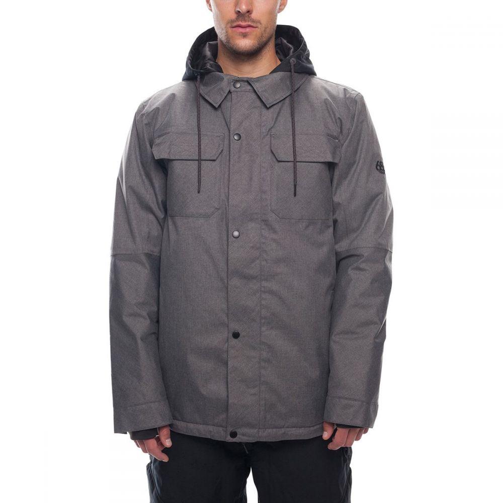 シックス エイト シックス 686 メンズ スキー・スノーボード アウター【Woodland Insulated Jackets】Grey Melange