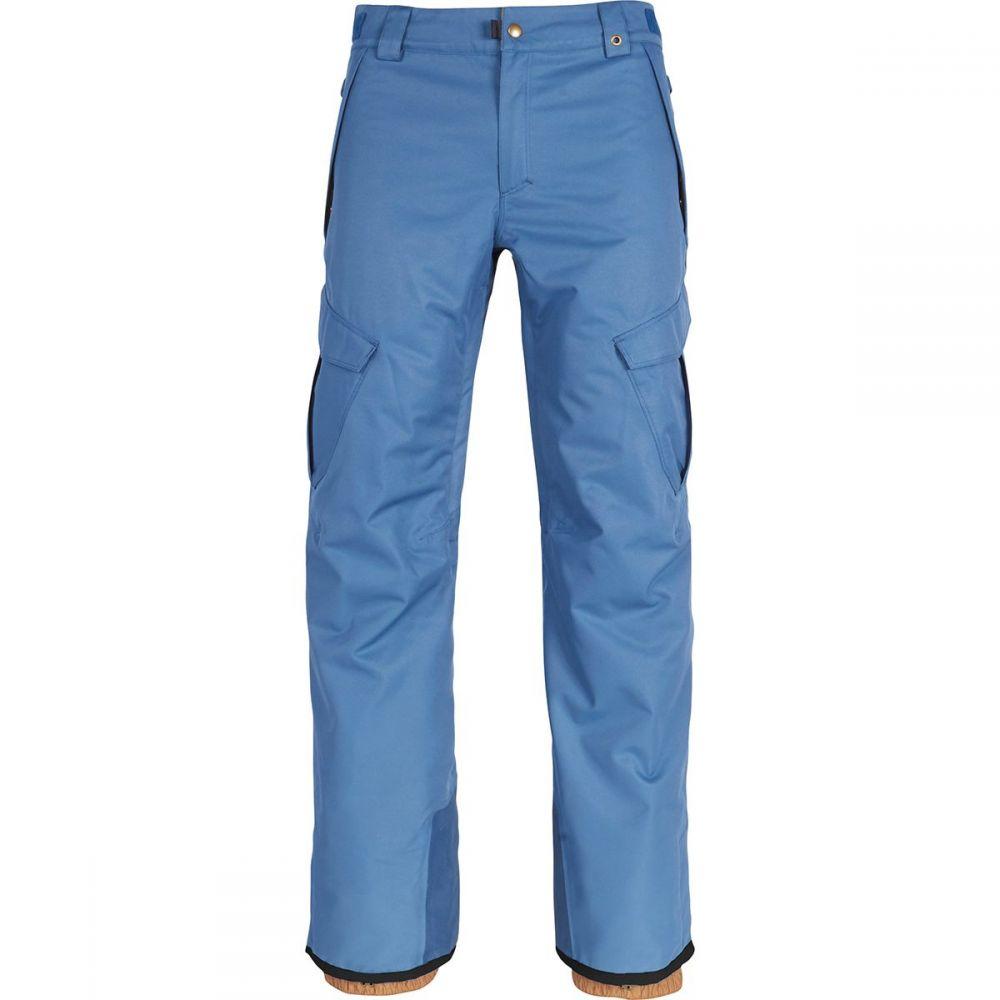 シックス エイト シックス 686 メンズ スキー・スノーボード ボトムス・パンツ【Authentic Infinity Cargo Insulated Pants】Bluesteel