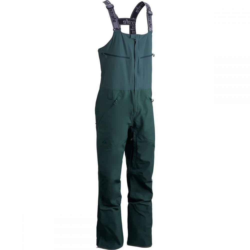 ストラーフェ アウターウェア Strafe Outerwear メンズ スキー・スノーボード ボトムス・パンツ【Nomad Bib Pants】Deep Forest