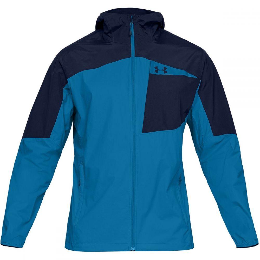 アンダーアーマー Under Armour メンズ アウター レインコート【Scrambler Hybrid Jackets】Cruise Blue/Academy/Cruise Blue