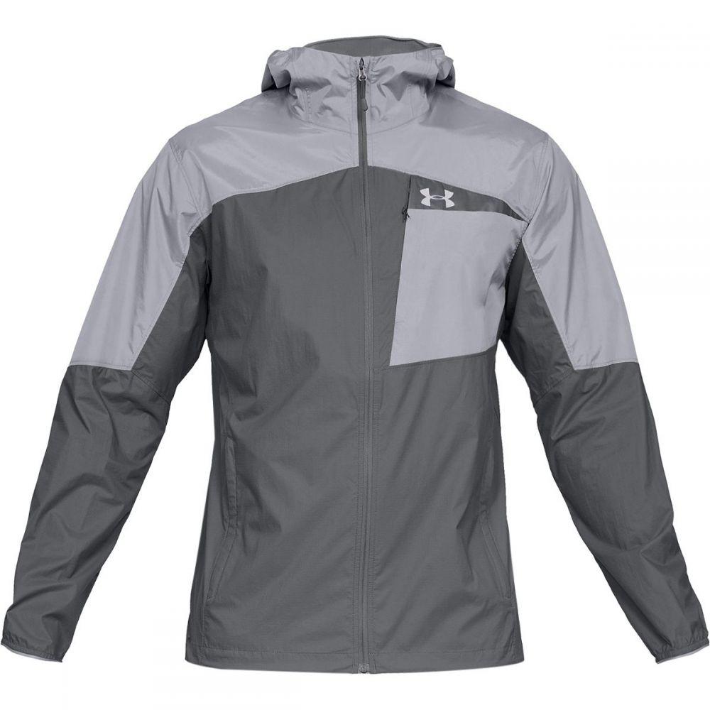 アンダーアーマー Under Armour メンズ アウター レインコート【Scrambler Hybrid Jackets】Graphite/Steel/Graphite