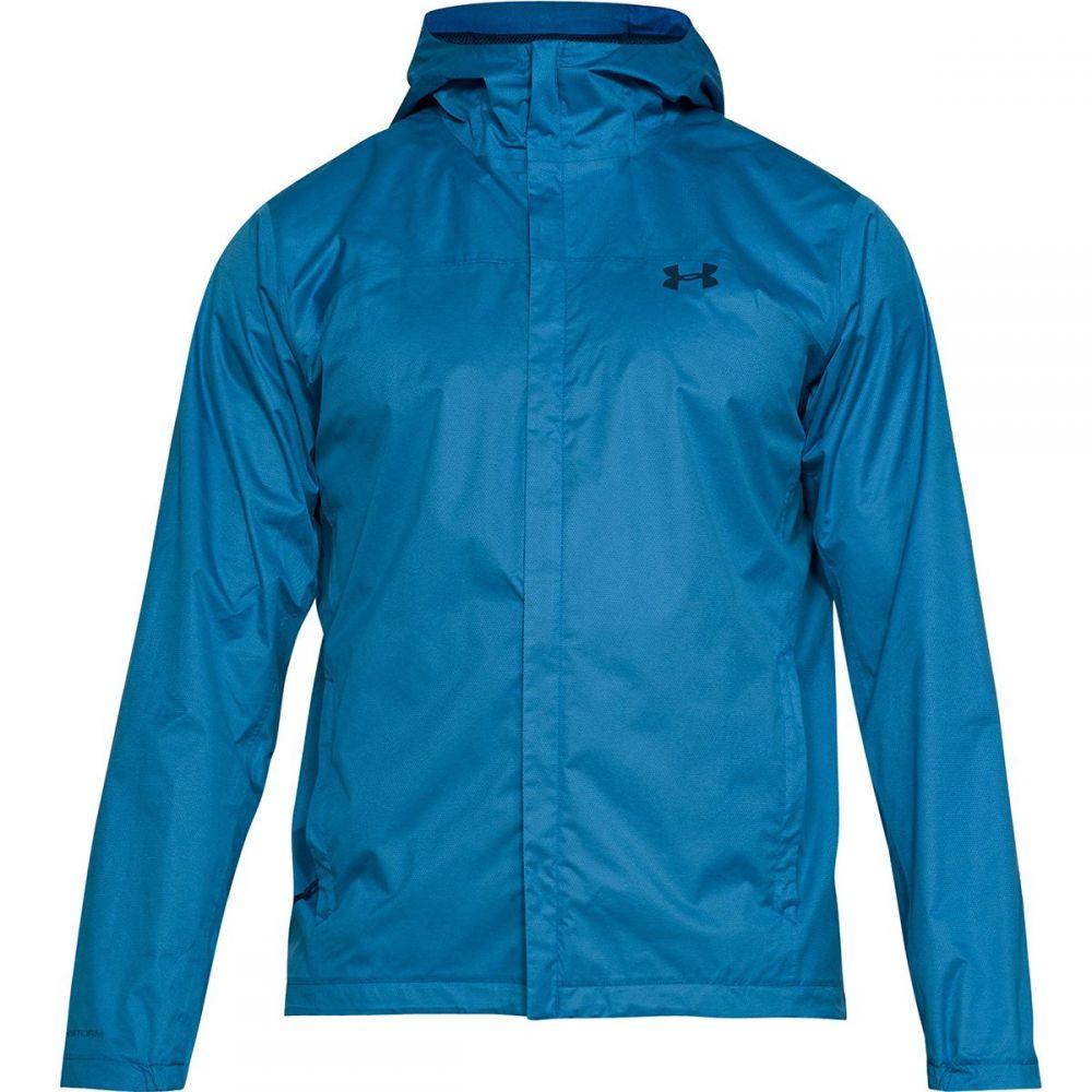 アンダーアーマー Under Armour メンズ アウター レインコート【Overlook Jackets】Cruise Blue/Moroccan Blue/Moroccan Blue