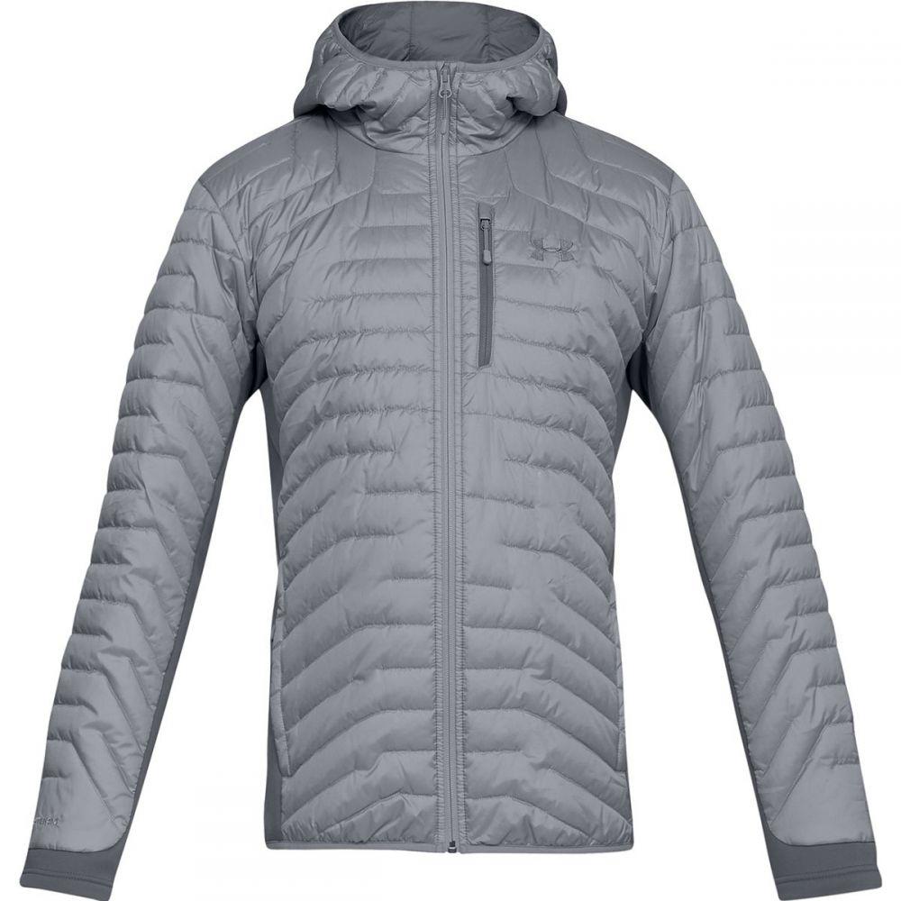 アンダーアーマー Under Armour メンズ アウター ジャケット【Coldgear Reactor Hooded Hybrid Jackets】Steel/Graphite/Graphite
