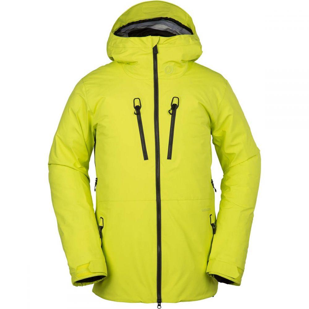 ボルコム Volcom メンズ スキー・スノーボード アウター【TDS Infrared Gore - Tex Hooded Jackets】Lime