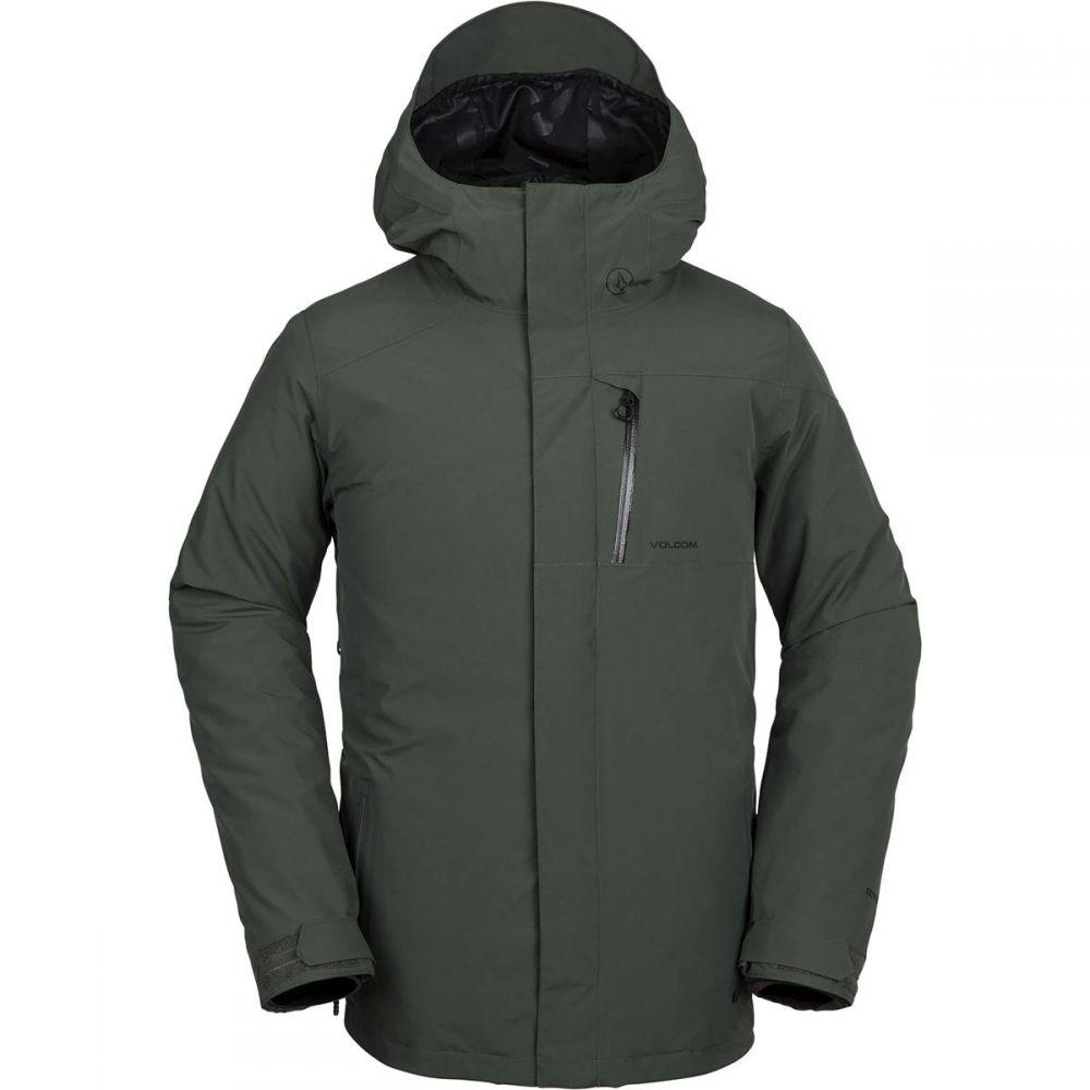 ボルコム Volcom メンズ スキー・スノーボード アウター【L Gore - Tex Jackets】Black Green