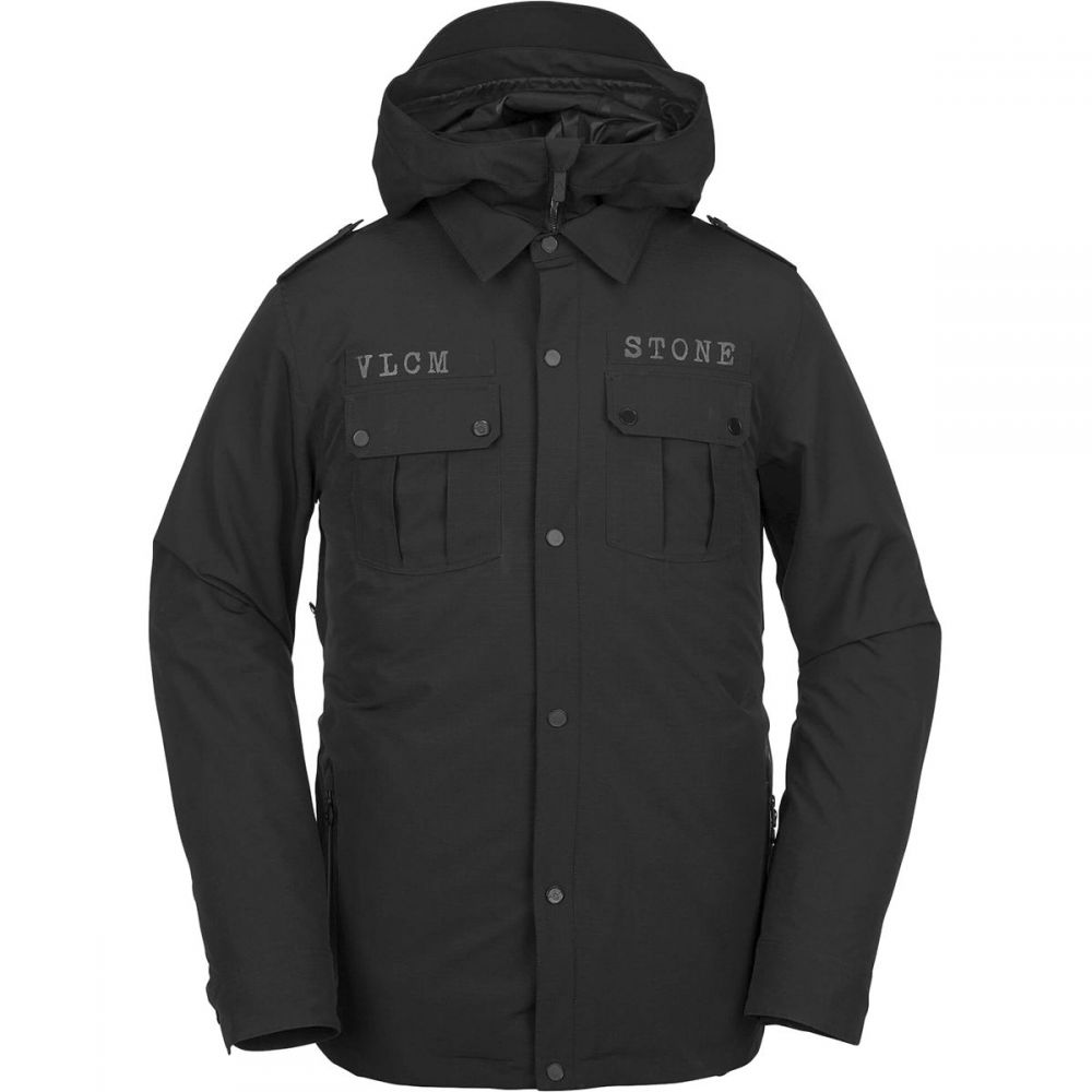 ボルコム Volcom メンズ スキー・スノーボード アウター【Creedle2Stone Jackets】Black