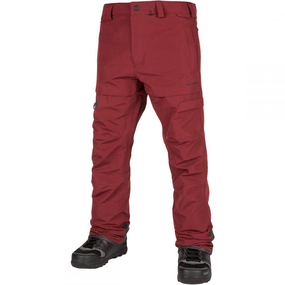 ボルコム Volcom メンズ スキー・スノーボード ボトムス・パンツ【GI Pants】Burnt Red
