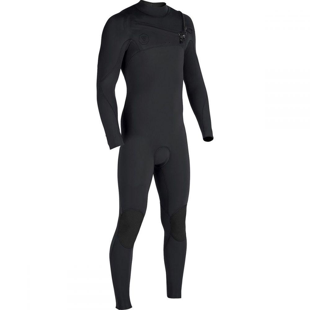 ヴィスラ Vissla メンズ 水着・ビーチウェア ウェットスーツ【7 Seas Tripper Front - Zip Long - Sleeve Full Wetsuits】Black