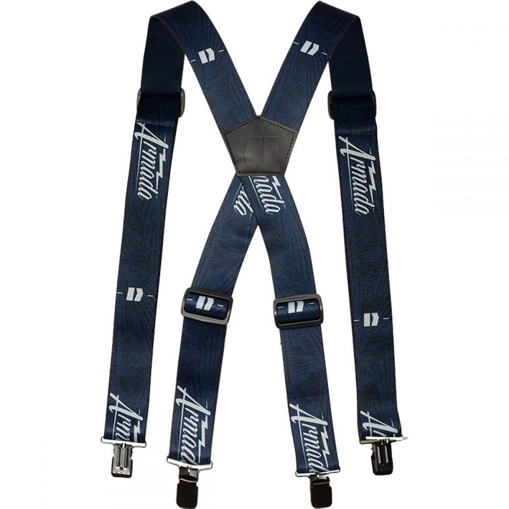 アルマダ Armada メンズ サスペンダー【Guardsman Suspenders】Navy Fitz