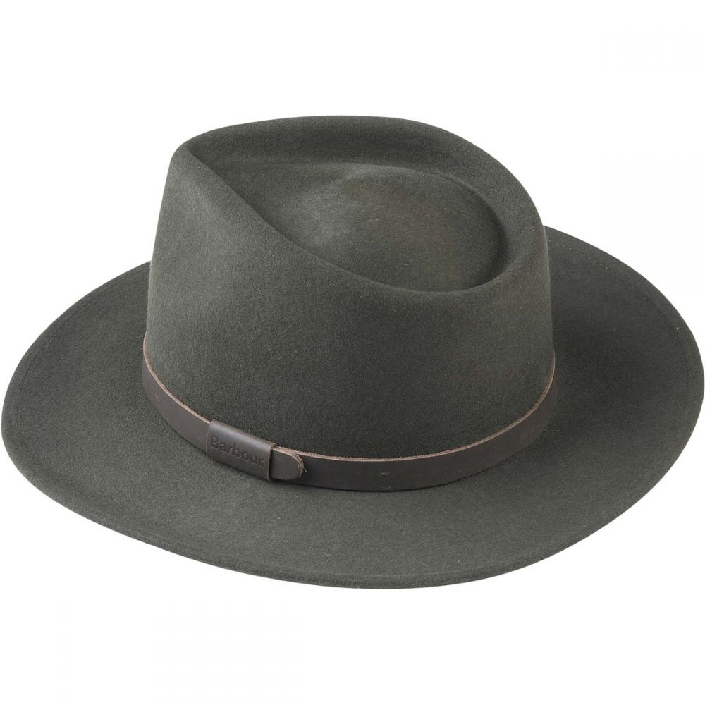 バーブァー Barbour メンズ 帽子【Crushable Bushman Hats】Olive