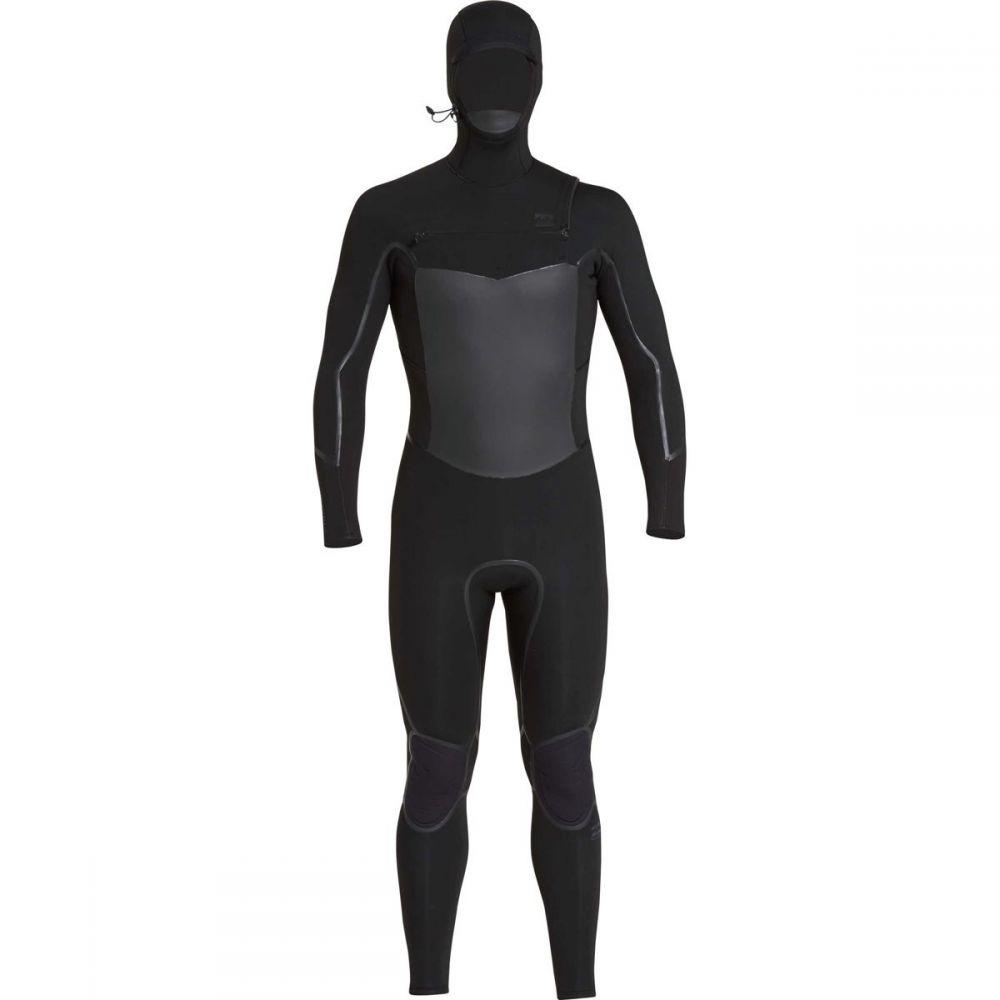 ビラボン Billabong メンズ 水着・ビーチウェア ウェットスーツ【5/4mm Furnace Absolute X Chest Zip Hooded Wetsuits】Black