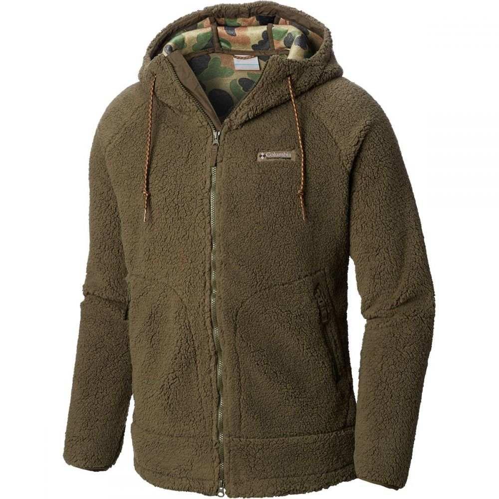 コロンビア Columbia メンズ トップス フリース【CSC Sherpa Jackets】Peatmoss/Camo