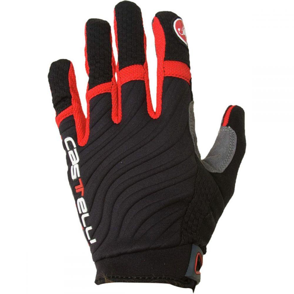 カステリ Castelli メンズ 自転車 グローブ【CW 6.0 Cross Gloves】Black/Red