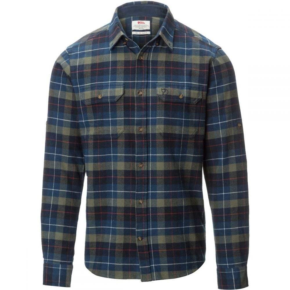 フェールラーベン Fjallraven メンズ トップス シャツ【Singi Heavy Flannel Shirts】Navy