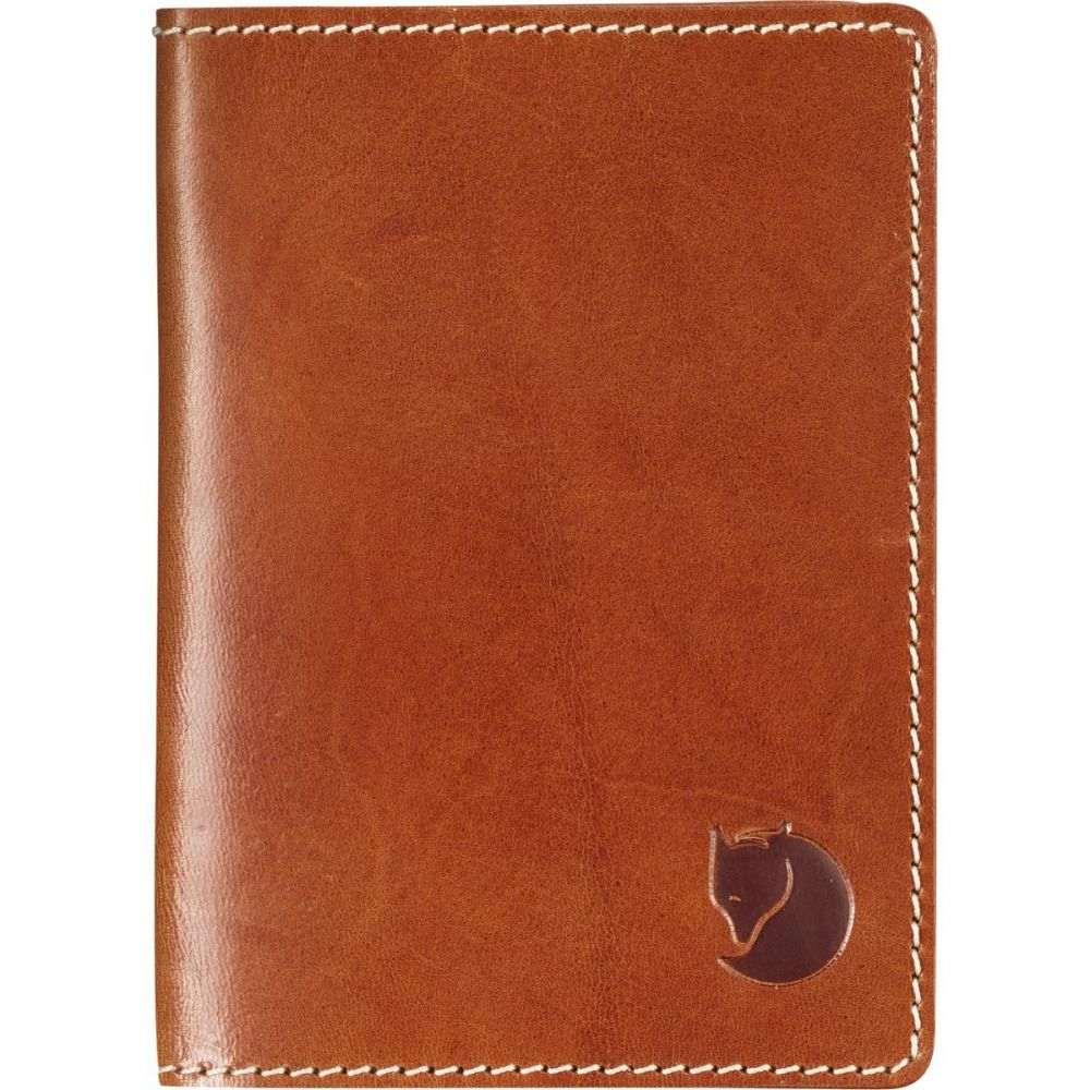 フェールラーベン Fjallraven メンズ パスポートケース【Leather Passport Covers】Leather Cognac
