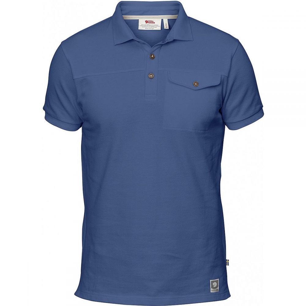 フェールラーベン Fjallraven メンズ トップス ポロシャツ【Greenland Polo Shirts】Deep Blue